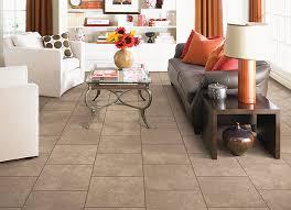 stylish living room ceramic tile tile flooring living room