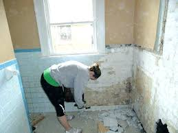 how to remove old tile how to remove plaster walls removing tile bathroom removing bathroom tile