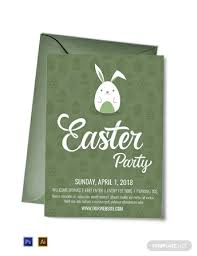 15 Easter Invitation Examples Templates Download Now