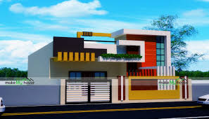 Simplex House Elevation Designs 35x72 Home Plan 2520 Sqft Home Design 1 Story Floor Plan