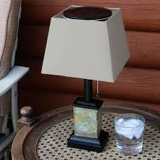 square table lamp outdoor small square slate solar table lamp inch tall floating square table lamp