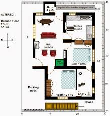 16 r9 2bhk in 30x40 west facing requested plan