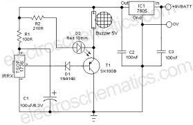 remote controlled alarm circuit remote controlled alarm circuit schematic