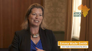 Emma Wade-Smith, H.M. Trade Commissioner for Africa, at The Africa Debate  2019 - YouTube