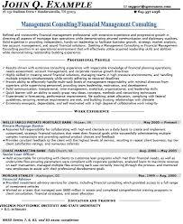 Management consultant resume to get ideas how to make prepossessing resume  10