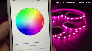 smartphone controlled lighting. WiFi LED Controller RGBW Strip App Control Instruction Smartphone Controlled Lighting