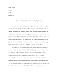 essay on the dream i got a dream come true essay creative writing examples