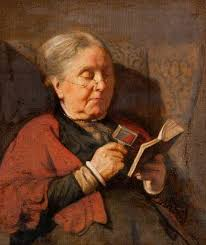 and the lord answered my prayer woman reading books and art women