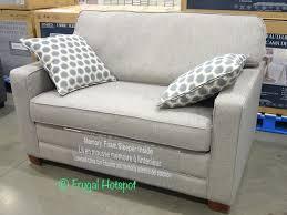 synergy home fabric sleeper chair