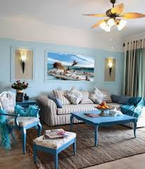 Teal Living Room Accessories Interior Mediterranean Style Small Apartment Living Room Decor