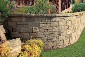 the tandem wall retaining wall system can be used to build curved or straight retaining and freestanding walls in a range of residential and light
