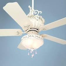 shabby chic ceiling fan chandeliers with pretty and pink light kit makeover p