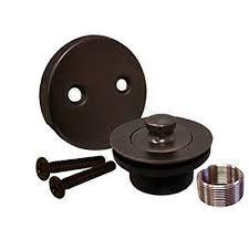 A Oil Rubbed Bronze Bathtub Tub Trim Drain Assembly