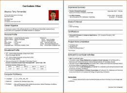 How To Make Resume For Freshers Sample Resumes
