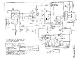 The grommes 260a schematic is at this link