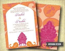 33 best wedding invite images on pinterest invitation ideas Punjabi Wedding Cards Vancouver indian wedding invitation custom diy digital pink by archanadesign Punjabi Wedding Cards Sample