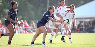 jordan gray deven owsiany usa united states eagles canada women super series red deer americas rugby