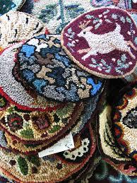 rug hooking samples