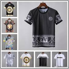 Mens Sleeve Designs 2019 Summer Designer T Shirts For Men Luxury Brands Shirt With Letters Short Sleeve Tops Tee Mens Clothing S 2xl