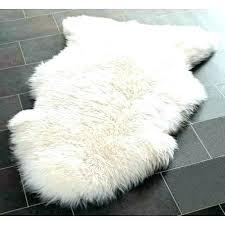 faux sheepskin throw blanket rug white fur plush bedrooms for girls