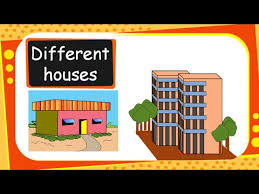 Science Different Types Of Houses And Building Materials English