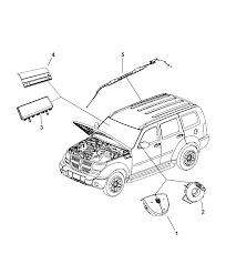 2007 dodge nitro air bags clock spring diagram i2171832