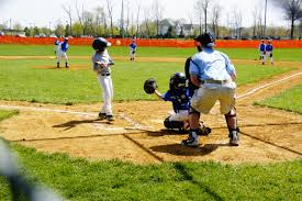 photo essay kids baseball playground cole behind the plate during the game on saturday 04 20