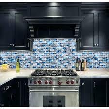 blue glass tile kitchen subway marble bathroom wall shower bathtub fireplace new design mosaic tiles k