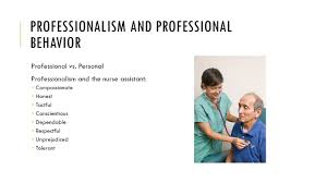 Professionalism In Nursing Chapter 2 The Nursing Assistant And The Care Team Ppt Video