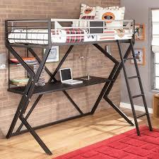 dinsmore twin desk loft bed