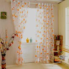 Orange Curtains Living Room Online Buy Wholesale Sheer Orange Curtains From China Sheer Orange