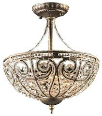 traditional ceiling light lights copper brass lighting fixtures collection quot wide fixture traditio