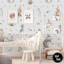 Boho Animal Wallpaper Removable ...