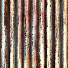 rusted corrugated metal roofing for dirty texture seamless hr