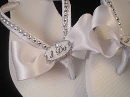 ivory wedding flip flops for bride finding wedding ideas Wedding Flip Flops With Bling 25 best ideas about bridal flip flops on pinterest wedding flip bridal flip flops i do flip flops custom flip flops dancing shoes i do bridal wedding flip flops with rhinestones