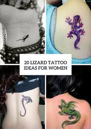 20 Awesome Lizard Tattoo Ideas For Girls Styleoholic