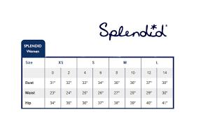 Minniemalism Splendid Size Chart Taken From Splendids