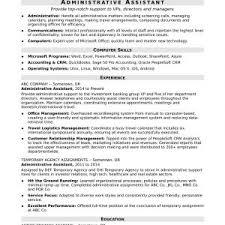 Valid Sample Resume Letter Administrative Assistant ...