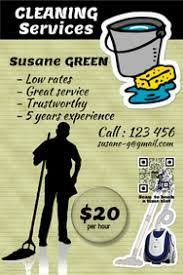 Service Advertisement Image Result For Cleaning Service Advertisement Example Cleaning