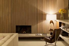 Here's One Alternative To Boring Drywall: Wood Wall Paneling