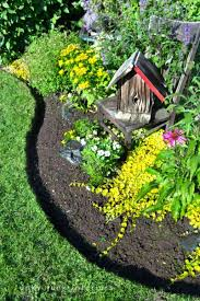 garden edger. Increase The Beauty Of Your Lawn By Adding Garden Edging That Works Well With Style Edger