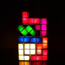 Buy Tetris Light Tetris Puzzle Light Desk Lamp