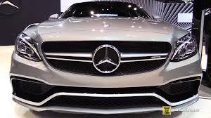 mercedes benz 2015 c class amg. 2015 mercedes benz c class c63 amg s exterior and interior walkaround chicago auto show youtube amg