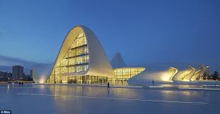 architecture buildings. The Heydar Aliyev Centre In Baku, Azerbaijan, Was Designed By Iraqi-born British Architecture Buildings