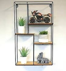 modern large square floating wall unit
