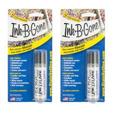 2 ink b gone stain remover cleaner eraser marker crayon makeup furniture leather com