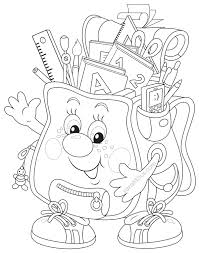 welcome back to school coloring pages new back to school drawing at getdrawings