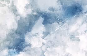 blue white grunge watercolour textures plain wall murals