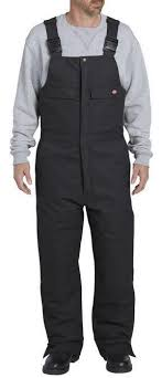 Dickies Sanded Duck Insulated Bib Overall Tb576