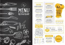 Menu Design Template Cafe Menu Design Template Printables And Menu 6